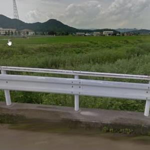 足利の水害被害のドライブレコーダの映像が放映されている。