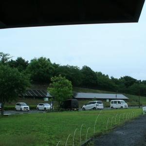 小雨の降る中、太田市北部運動公園に行って来た ^^