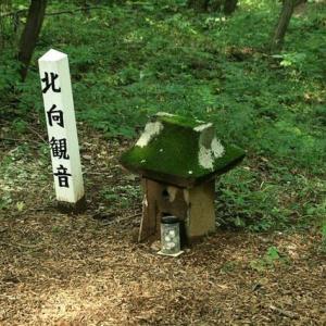 鹿田山でチョット気になることがあったので調べてみた。  北向観音