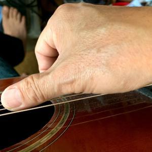 右手の修正、左手の鍛錬。