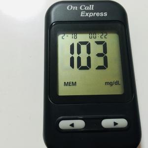 実食前?血糖値レポート