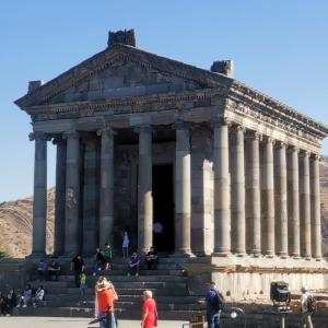 【アルメニア】ガルニ神殿とホルヴィラップ修道院(ユーラシア大陸バイク旅 2019)