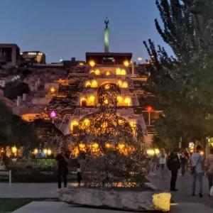 【アルメニア】ガルニ神殿→エレバン(ユーラシア大陸バイク旅 2019)