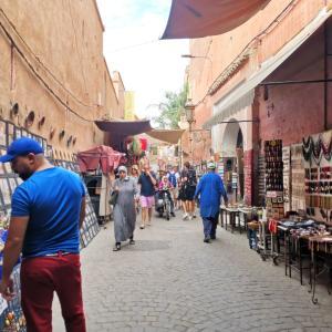 【モロッコ】の裏話。バブーシュ作りの動画も公開。