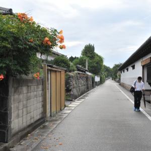 萩旧市街をぶらり