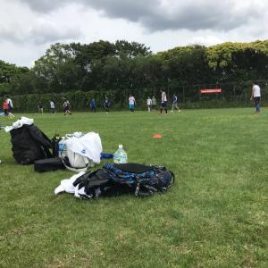 久々のサッカー練習