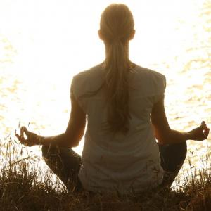 採卵前の瞑想