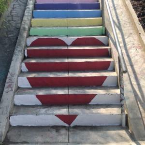 シルバーレイクの階段