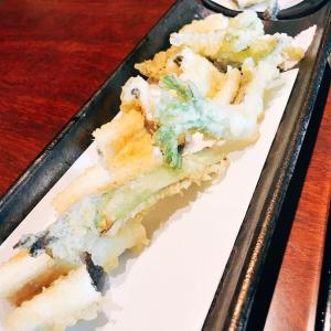 武蔵小山 倉田でランチに季節の天ぷら蕎麦せいろを食べて来た