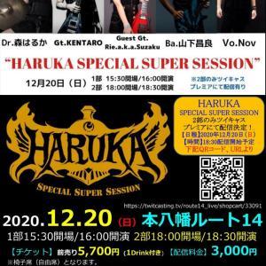 2020年12月20日 HARUKAライブ千葉