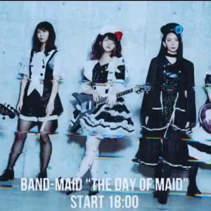 2021年5月10日 BAND-MAID配信ライブ