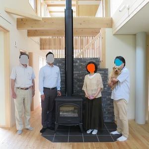 軽井沢の家、完成
