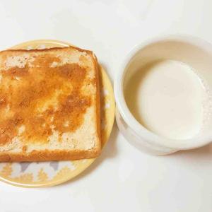 パンと健診前日。