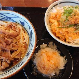 (かぶっちゃったけど)丸亀製麺さんでぶっかける!(千歳篇)