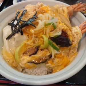 柳ばし さんで「エビフライ丼」食べました(千歳篇)