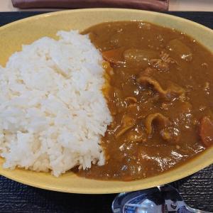 チェーン店カレー食べ歩きシリーズ第8弾!ゆで太郎さんのカレー(千歳篇)