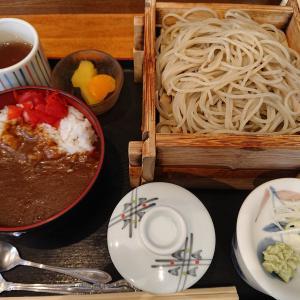 「そば処 神田」さんでミニ丼セットよ(千歳篇)