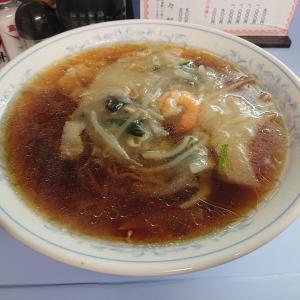 久々の来々軒さんてまた広東麺食べたよ(千歳篇)
