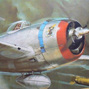 P-47Dサンダーボルトの大きさにびっくりした