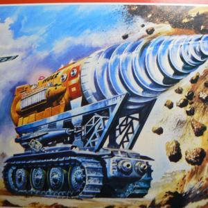 サンダーバードのジェットモグラタンクはコンテナメカNo.1じゃ