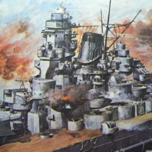 戦艦武蔵、ニチモの軍艦はお宝じゃ
