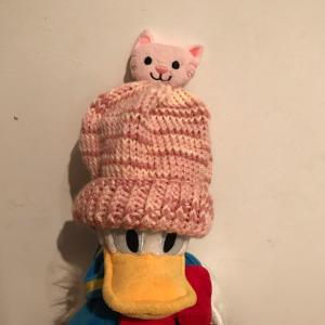 ネコの帽子完成✨