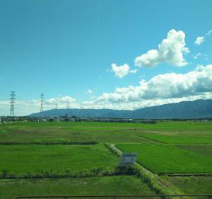 沖縄の吉兆の空