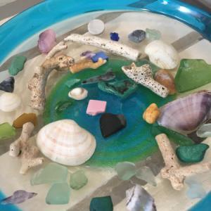 シーグラスビーチ~海の中の宝物