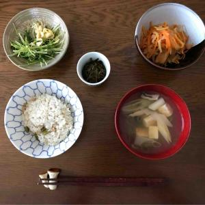 11月9日朝食〜夕食