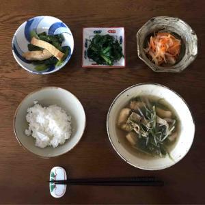 1月25日朝食〜夕食