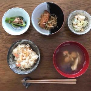 5月15日朝食〜夕食