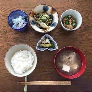 6月12日朝食〜夕食