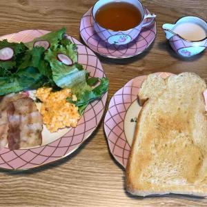 6月18日朝食〜夕食