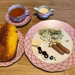 6月22日朝食〜夕食
