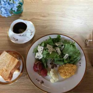 6月25日朝食〜夕食