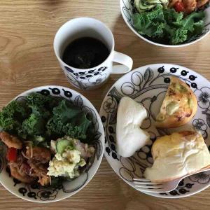 7月7日朝食〜夕食