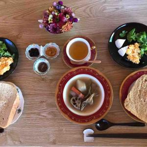 9月14日朝食〜夕食