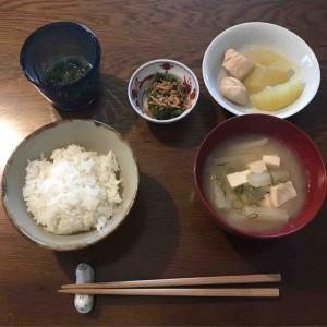9月26日朝食〜夕食