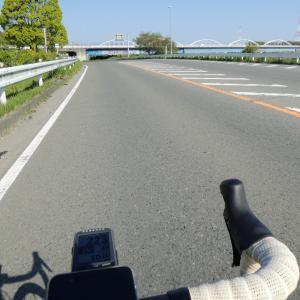 久々のロードバイク、相模川平坦路+城山湖トレーニング&パンライド