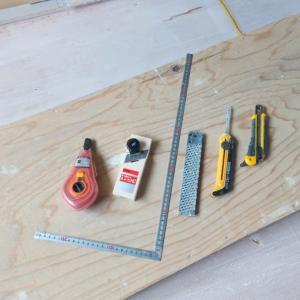 PB(石膏ボード)の道具たち