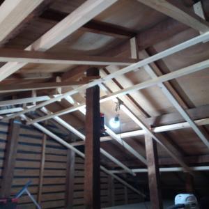 勾配天井とロフト天井 急ピッチ