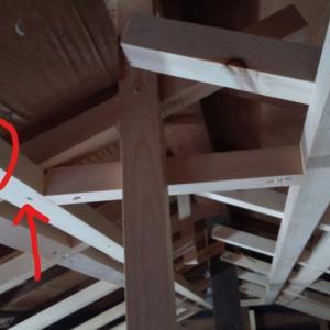 ロフトの壁・天井 粛々と②