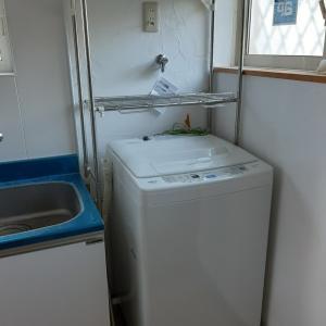 冷蔵庫、洗濯機ゲット