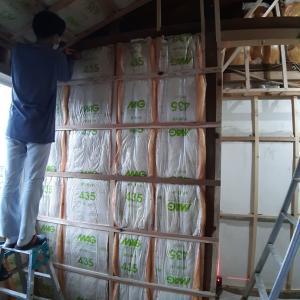 ロフト階段が収まる押し入れの作成① 壁下地④