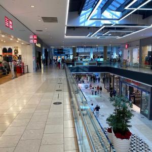 寂しいクリスマス ショッピング。