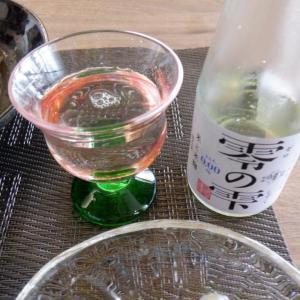 日本酒+木の葉丼!