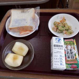 術後16日目の朝食