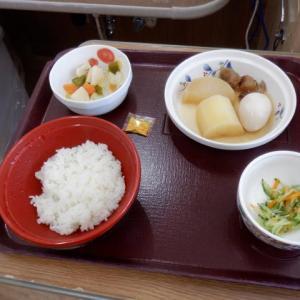 術後17日目の昼食