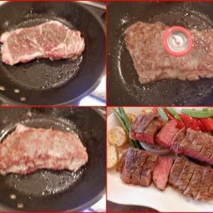 孫た急遽家に・・お肉を焼きました!