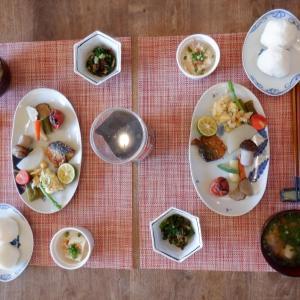 朝食は和テーストを